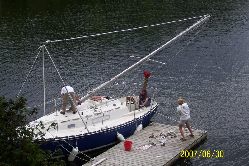1972 cc 27 mki sailboat mast raising cc 27 mast raising kit image publicscrutiny Images